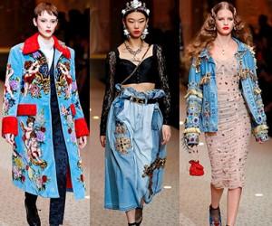 Dolce & Gabbana осень-зима 2018-2019