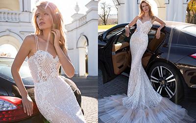 Свадебные платья Pollardi осень-зима 2019-2020