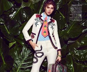 Anais Pouliot на страницах Vogue Mexico
