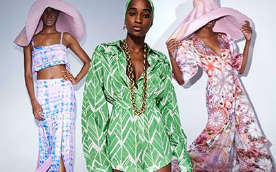 Модная пляжная женская одежда из натуральных тканей Alexis Pre-Fall 2021