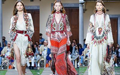 Женская одежда Etro весна-лето 2020