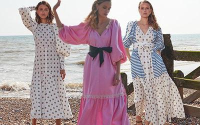 Хлопковые платья Anna Mason London весна-лето 2021