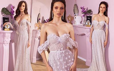 Изящные свадебные платья из коллекции Elihav Sasson 2020