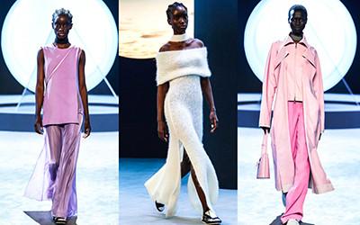 Женская одежда Salvatore Ferragamo осень-зима 2021-2022