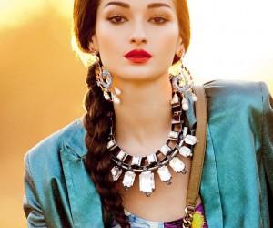 Bruna Tenorio для журнала Vogue Brazil