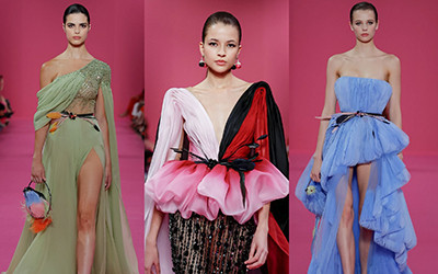 10 роскошных вечерних нарядов Georges Hobeika Haute Couture осень-зима 2019-2020