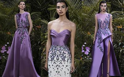 Нарядные вечерние платья и элегантные костюмы Saiid Kobeisy осень-зима 2021-2022