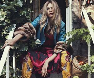 Cara Delevingne для журнала Vogue Australia