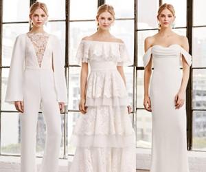 Свадебные платья Tadashi Shoji весна-лето 2019