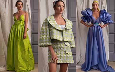 Красивая женская одежда Leal Daccarett весна-лето 2022
