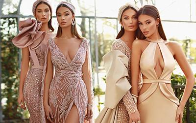 Эксклюзивные вечерние платья от кутюр Fjolla Nila весна-лето 2021