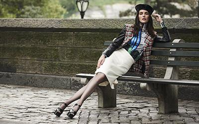 Hilary Rhoda на страницах журнала SCMP Style