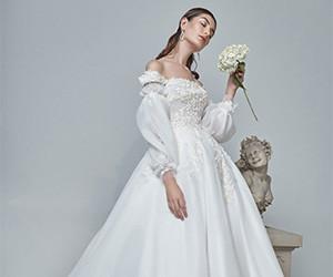 Свадебные платья Sara Mrad весна-лето 2019