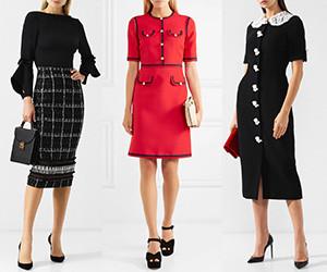 Выбираем элегантное офисное платье