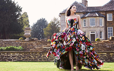 Amy Jackson для журнала Country & Town House