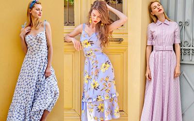 Самые женственные платья на лето 2019 от бренда Waistliners