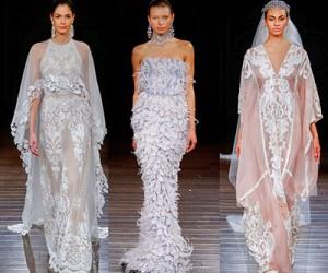 Свадебные платья Naeem Khan весна-лето 2017