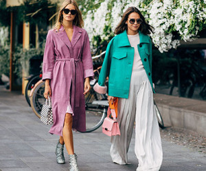 Street style на Неделе моды в Стокгольме весна-лето 2019