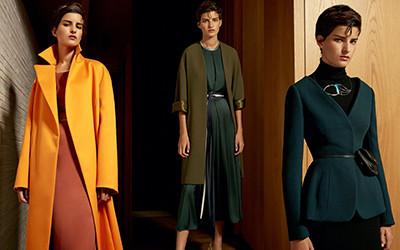 Элегантная женская одежда Carl Kapp осень-зима 2020-2021