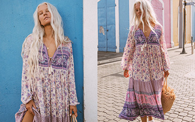 Летняя женская одежда в богемном стиле Spell 2020