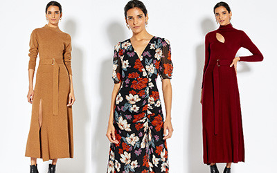 10 модных платьев из осенне-зимней коллекции бренда Nicholas