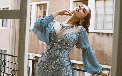 Вечерние платья Sara Mrad Haute Couture весна-лето 2020