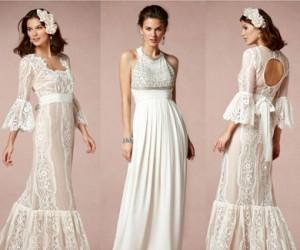 Каталог свадебных платьев BHLDN весна-лето 2013