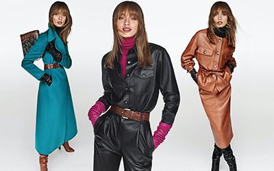 20 элегантных образов для деловых женщин Luisa Spagnoli осень-зима 2020-2021