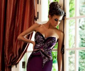 Роскошные платья Mireille Dagher весна-лето 2013