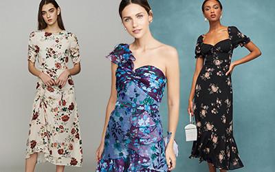 20 цветочных платьев для подружек невесты на свадебную вечеринку