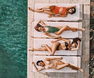 Модные купальники. Примеры на модных блогерах