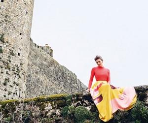 Amber Anderson на страницах Harper's Bazaar UK