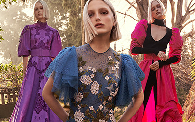 Вечерние платья и костюмы Costarellos Pre-Fall 2020