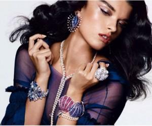 Crystal Renn для журнала Vogue Germany