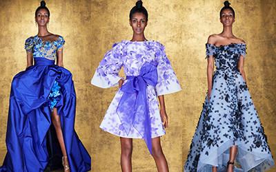 20 самых роскошных вечерних платьев из коллекции Marchesa Pre-Fall 2021