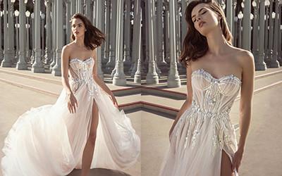 10 роскошных свадебных платьев из коллекции Netta BenShabu 2021