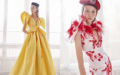 25 красивых вечерних платьев Yolan Cris весна-лето 2019
