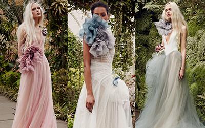 Свадебные платья Vera Wang весна-лето 2020