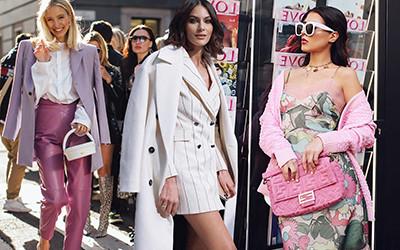 Street style на неделе моды в Милане осень-зима 2020-2021