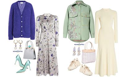 Модные сеты женской одежды весна 2020