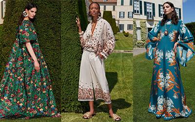Женская одежда из шелка и хлопка La DoubleJ Resort 2022