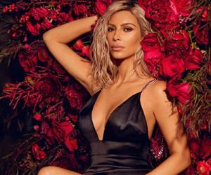 Kim Kardashian на страницах журнала Vogue India