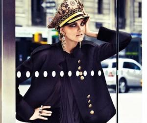 Caroline Trentini на страницах Vogue Brazil