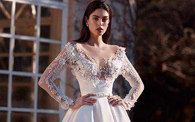 Свадебные костюмы и платья Leah Da Gloria весна-лето 2020