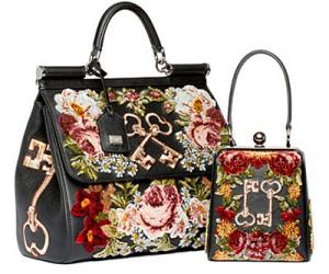 Украшения и сумки Dolce & Gabbana Pre-Fall 2014