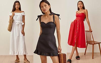 Летние льняные платья из коллекции Reformation 2021