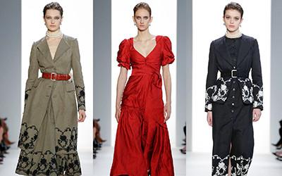 Женская одежда Brock Collection осень-зима 2019-2020