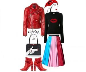 Модные сеты женской одежды осень 2017