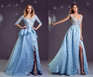 Вечерние платья Hanna Touma 2017