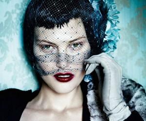Catherine McNeil на страницах Vogue UK